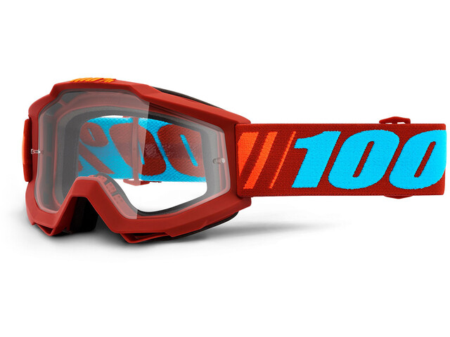 100% Accuri Anti Fog Clear Goggles dauphine